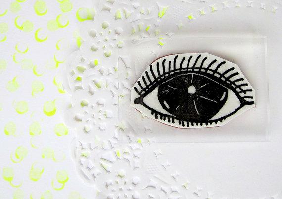 eye stamp