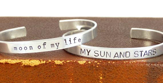 sun and moon bracelets